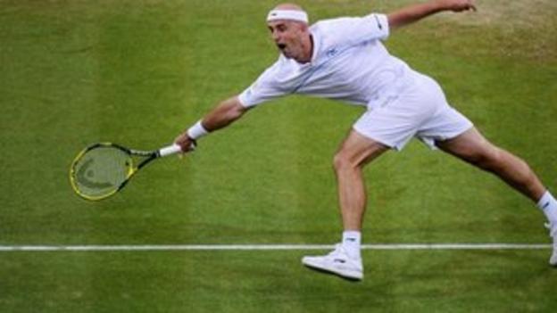 Ivan Ljubicic at Wimbledon