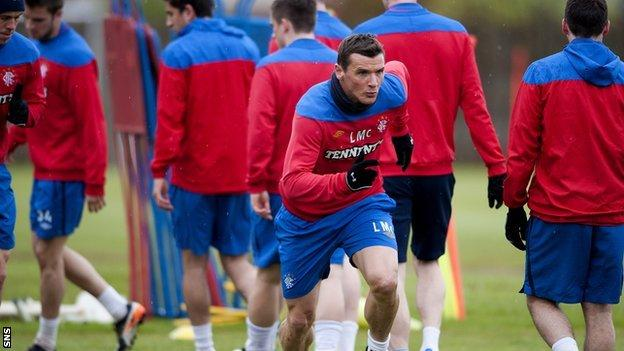 Rangers forward Lee McCulloch