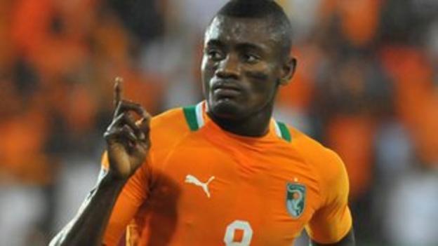 Ivory Coast striker Salomon Kalou