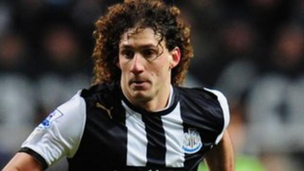 Fabricio Coloccini's form earned him a place in the PFA Team of the Year