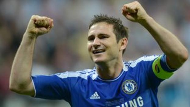 Frank Lampard could represent Team GB at the Olympics