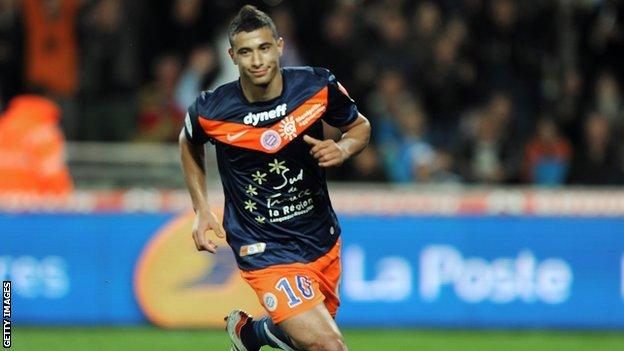 Morocco and Montpellier's Younes Belhanda