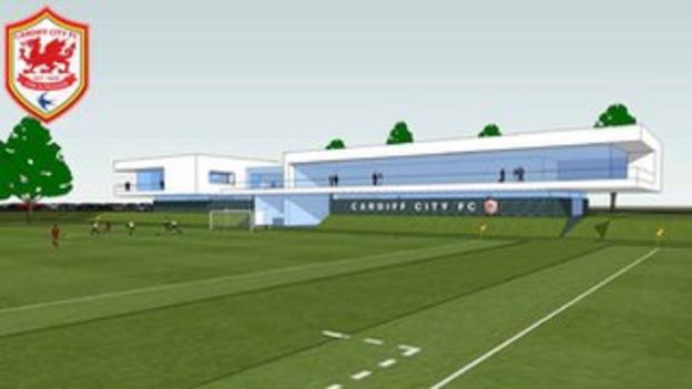 Artists impression of proposed new training facility