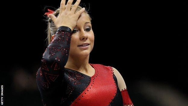 Shawn Johnson, US gymnast