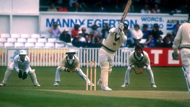 Worcestershire v Australia, New Road, May 1989