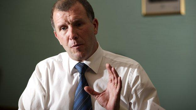Stewart Regan, Scottish FA chief executive