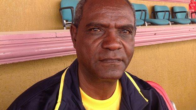 Ethiopia coach Sewnet Bishaw