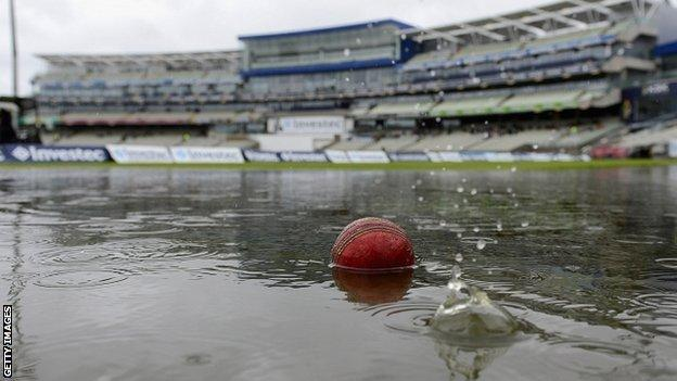 The first two days at Edgbaston have been abandoned