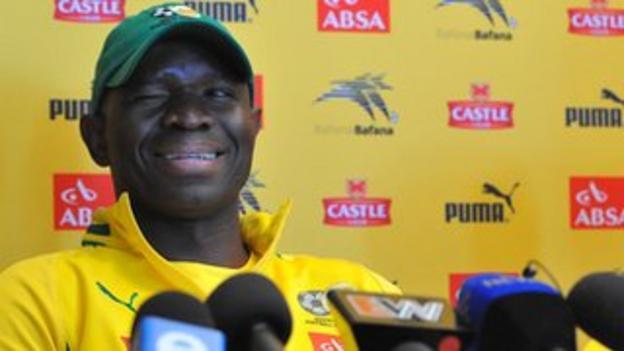 South Africa interim coach Steve Komphela