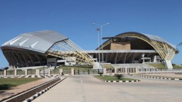 The new Levy Mwanawasa stadium