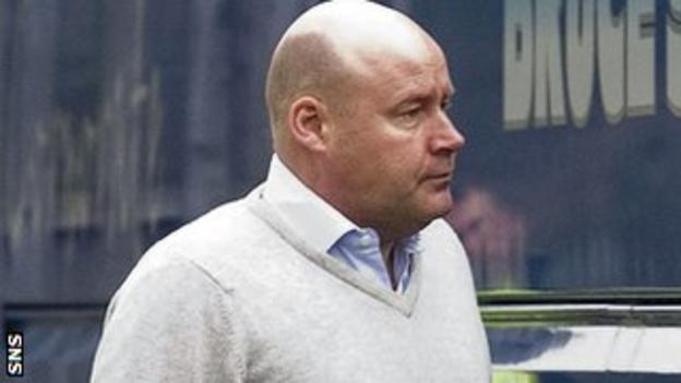 Former Rangers non-executive director Andrew Ellis