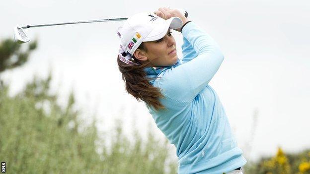 GB & Ireland golfer Kelly Tidy