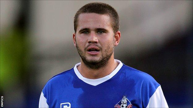 Oldham Athletic midfielder James Wesolowski