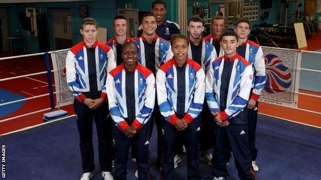 GB boxing squad
