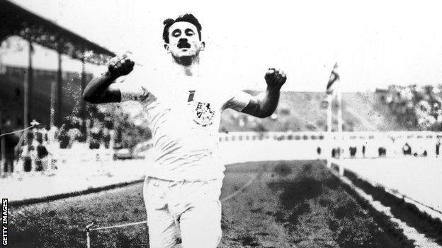 Scottish Olympic gold medallist Wyndham Halswelle