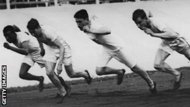 The 1908 Olympic 400m final