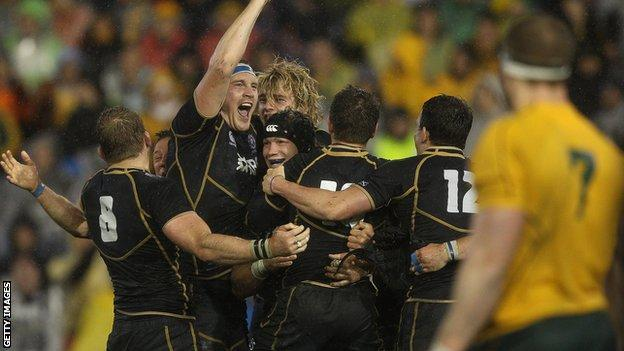 Scotland aim to build on their win over Australia