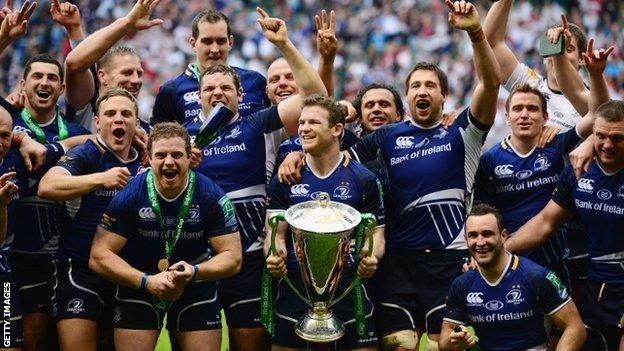 2012 Heineken Cup winners Leinster