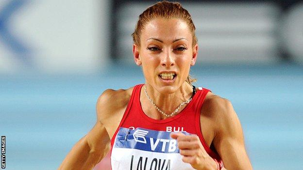 Bulgarian sprinter Ivet Lalova could be among the athletes competing in Dublin next June
