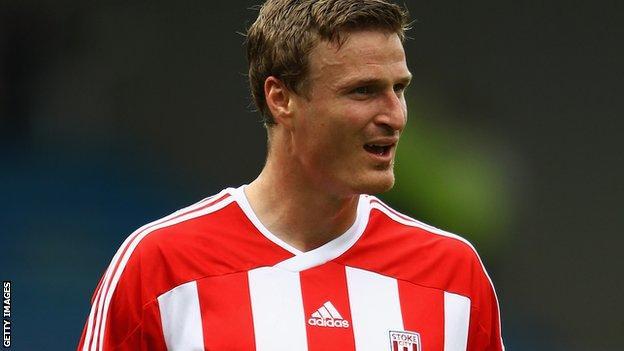 Stoke City defender Robert Huth