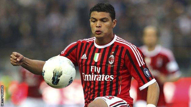 Milan's Thiago Silva