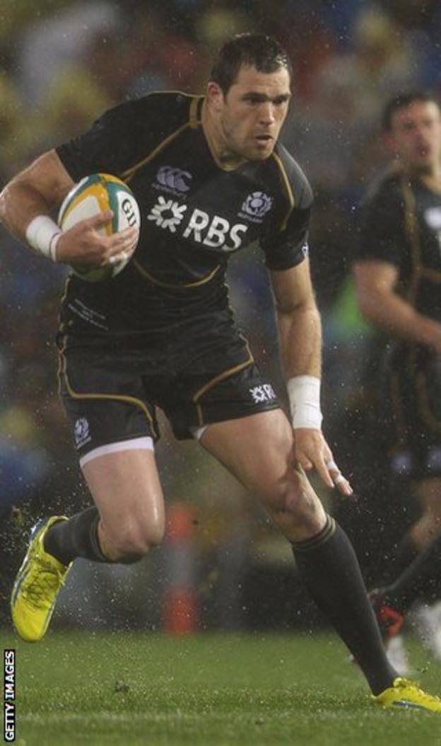 Scotland wing Lamont has returned to Warriors after leaving Scarlets