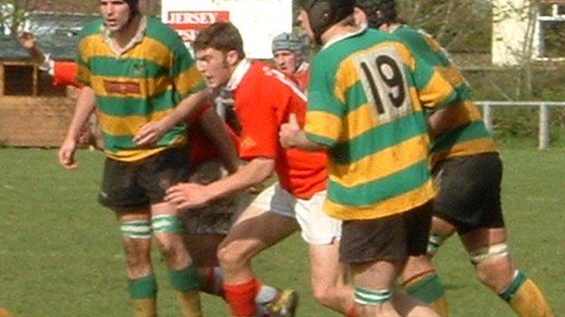 Matt Banahan played for Jersey as a youngster