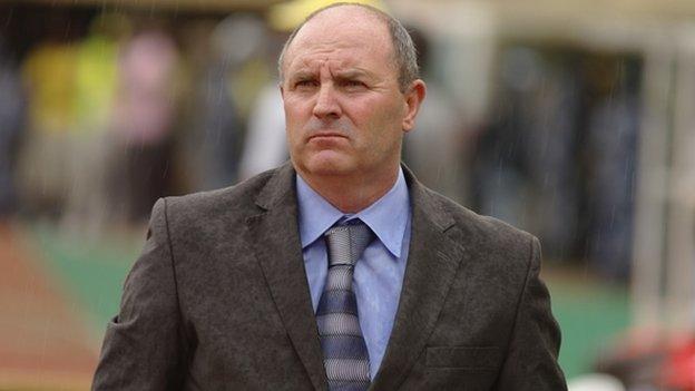 Uganda coach Bobby Williamson