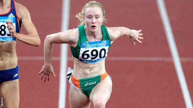 Amy Foster will compete in the 100m and 200m in Helsinki