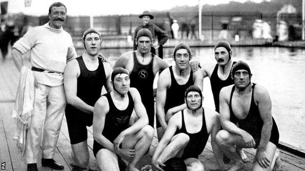 Great Britain 1912 water polo team