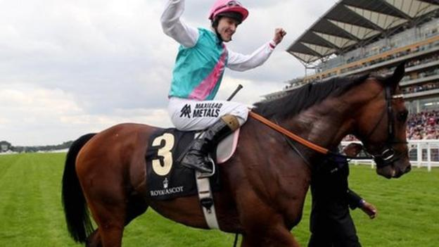 Frankel The Great Reigns At Royal Ascot Bbc Sport