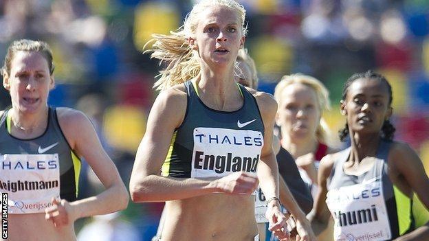 British runner Hannah England