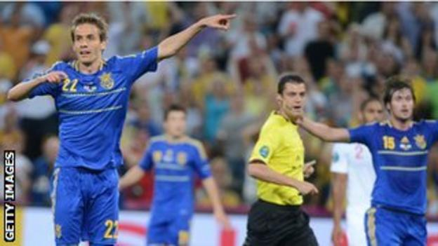 Ukraine appeal for a goal
