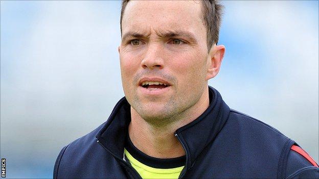 Lancashire opener Stephen Moore