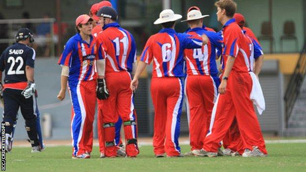 Jersey's cricketers at World Cricket League Division Six in Malaysia