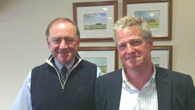 Peter Dawson and Graham Spiers