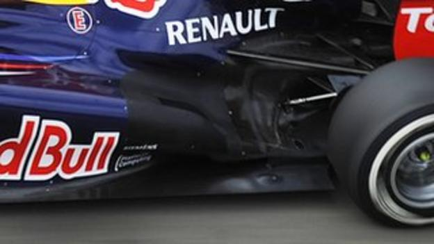 The RB8's rear-end slot now connects up to the rear diffuser, managing the airflow better