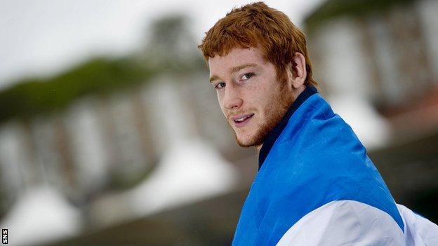 Rob Harley hopes to win his first Scotland cap against Samoa