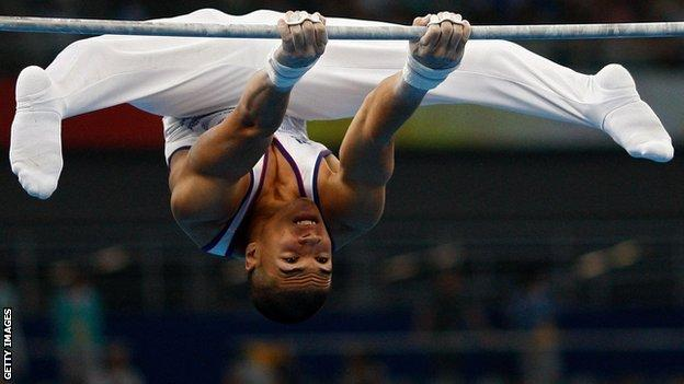 GB gymnast Louis Smith