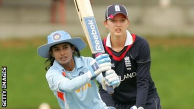 Mithali Raj hits out against England in the 2009 World Cup