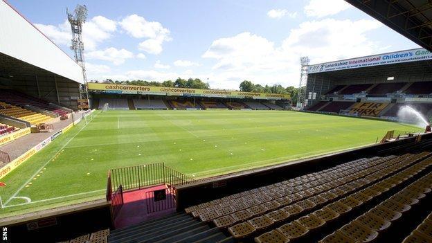 Motherwell's Fir Park stadium