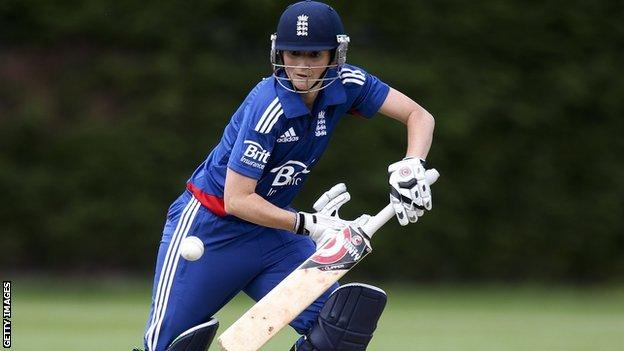 England captain Charlotte Edwards hits out against Ireland