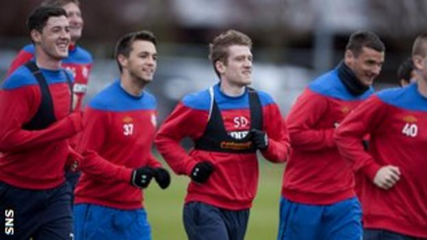Rangers are due to start training on Thursday