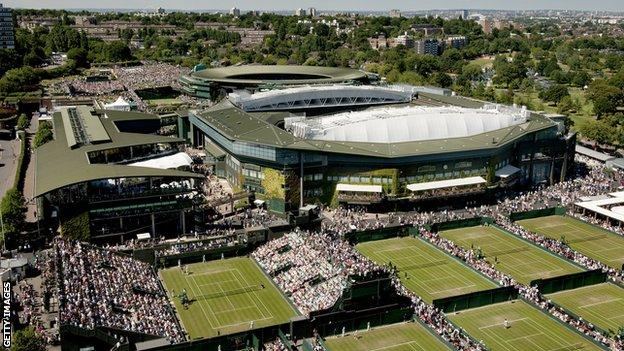 Wimbledon currently starts two weeks after the end of the French Open