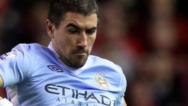 Aleksander Kolarov of Manchester City