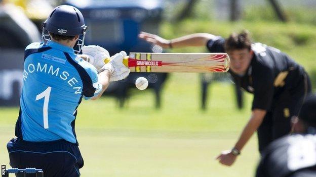 Scotland cricketer Preston Mommsen