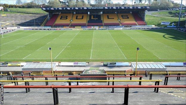 Odsal, home of Bradford Bulls
