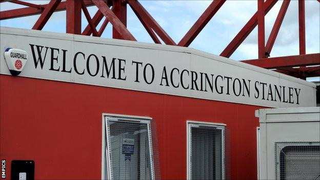 The Crown Ground, home of Accrington Stanley