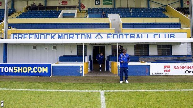 Cappielow Stadium; home of Greenock Morton FC