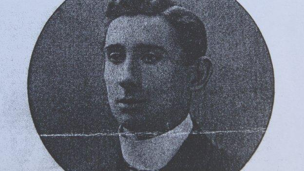 Scottish Olympic gold-medallist Arthur Robertson